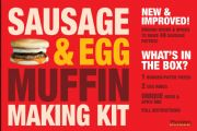 Unique McDonalds Style Breakfast Sausage & Egg Muffin Making Kit